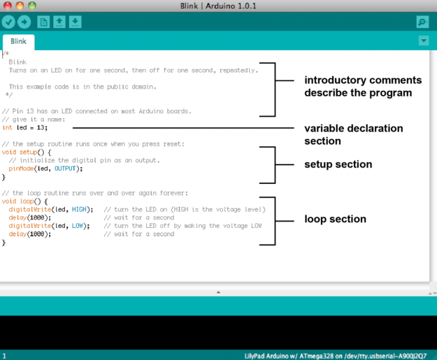 Programación arduino aprendiendo