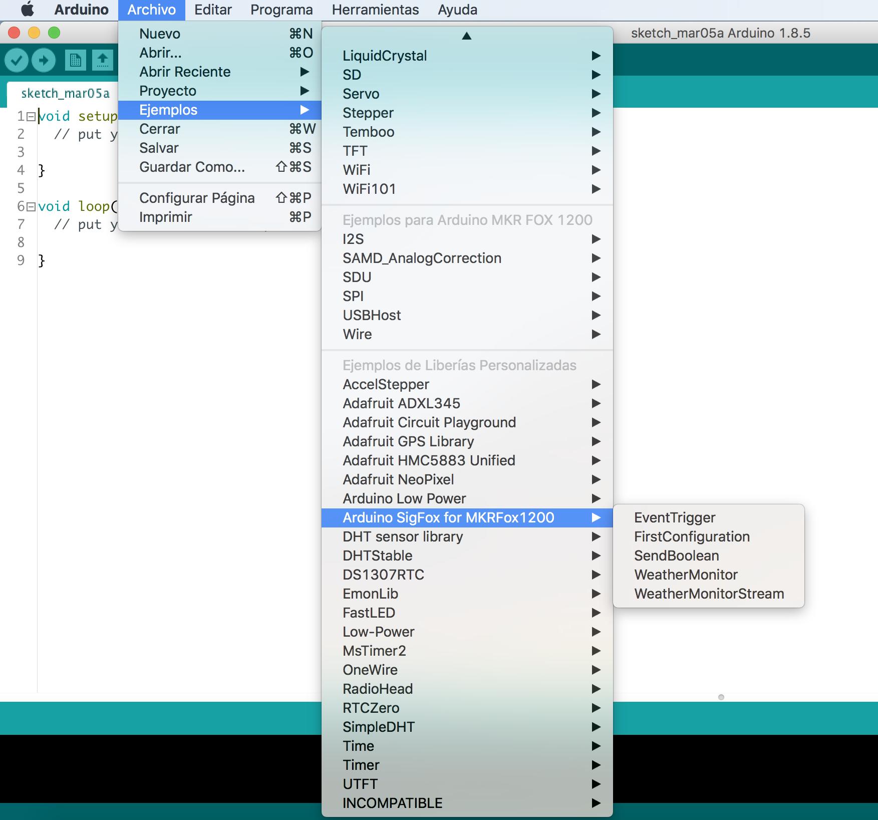 Arduino MKRFOX1200 – Aprendiendo Arduino